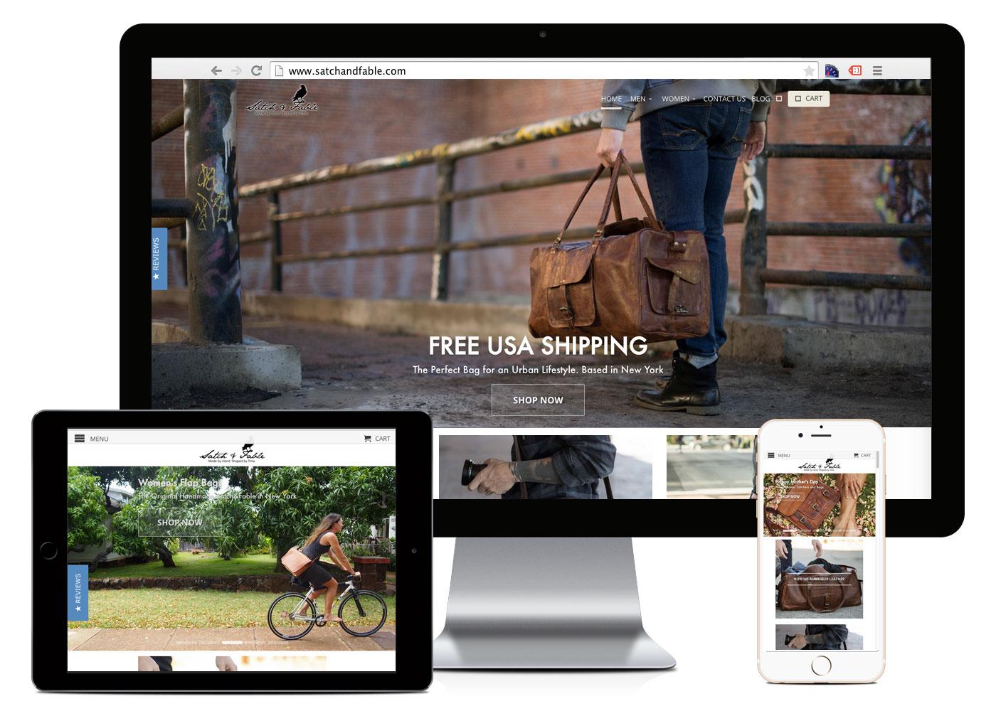Optiweb Design Client Website